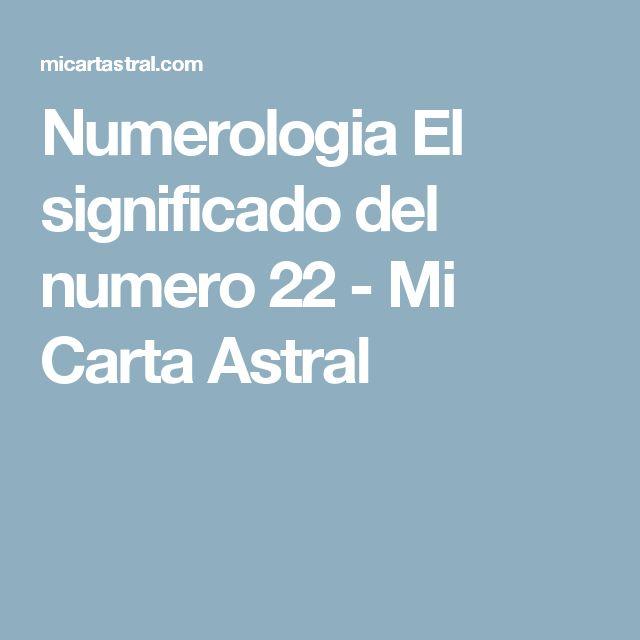 Numerologia El significado del numero 22 - Mi Carta Astral