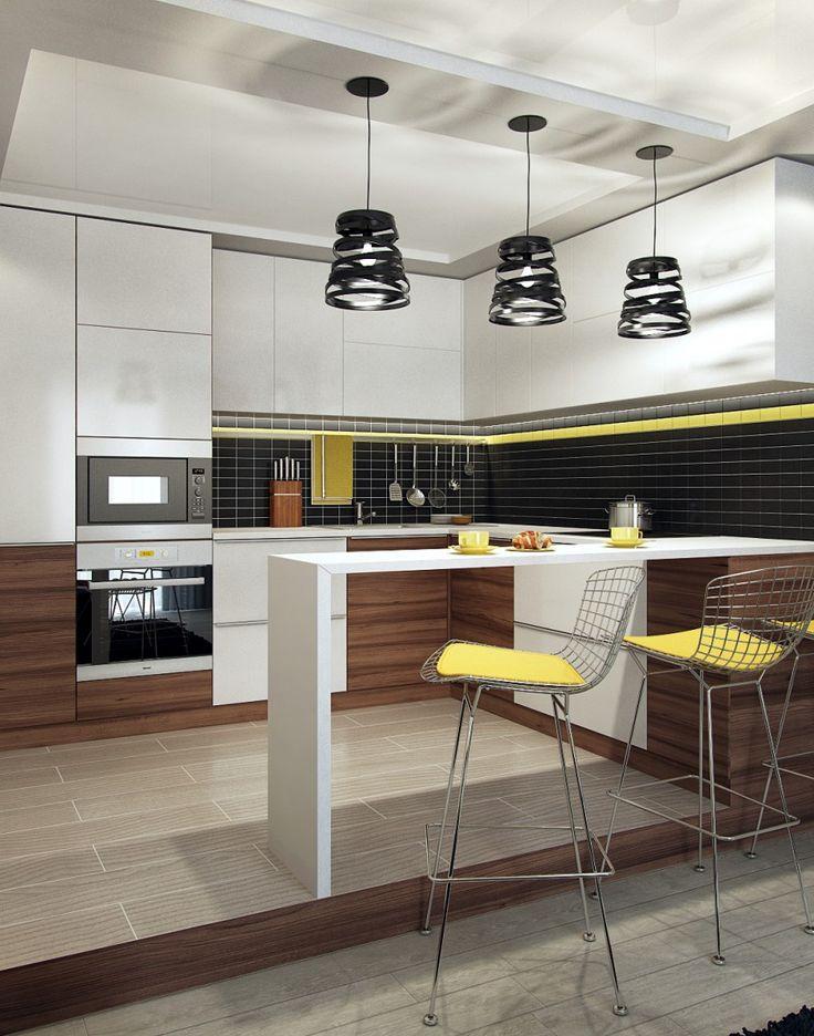 кухня-гостиная, вариант 1