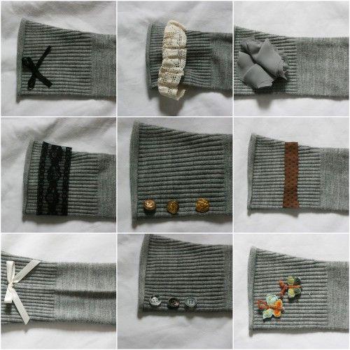 How To Make Leg Warmers or Boot Socks