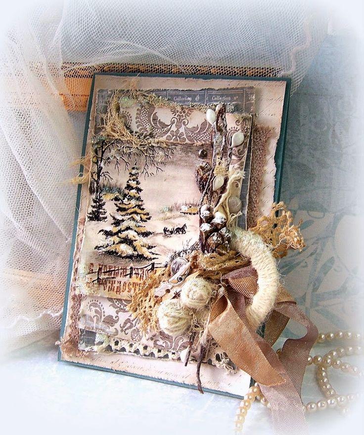 Открытки рождество скрап, картинки нот