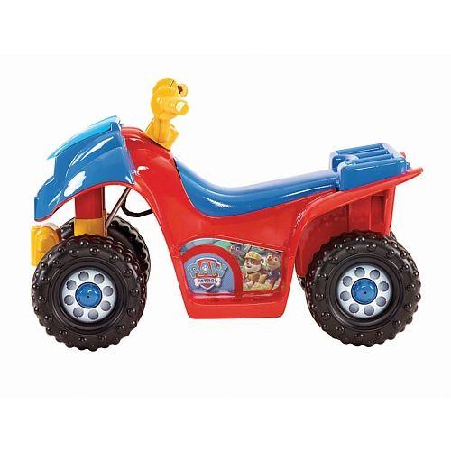 Fisher-Price Power Wheels - Porteur La Pat' Patrouille Lil' Quad