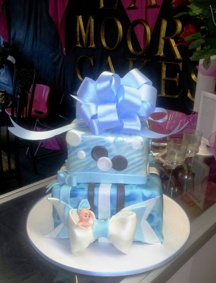 Baby Shower Cake By Eat Moore Cakes.com 937 s Hamilton lockport IL