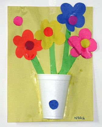 mother's day crafts for kids | my first crafted mother's day gift