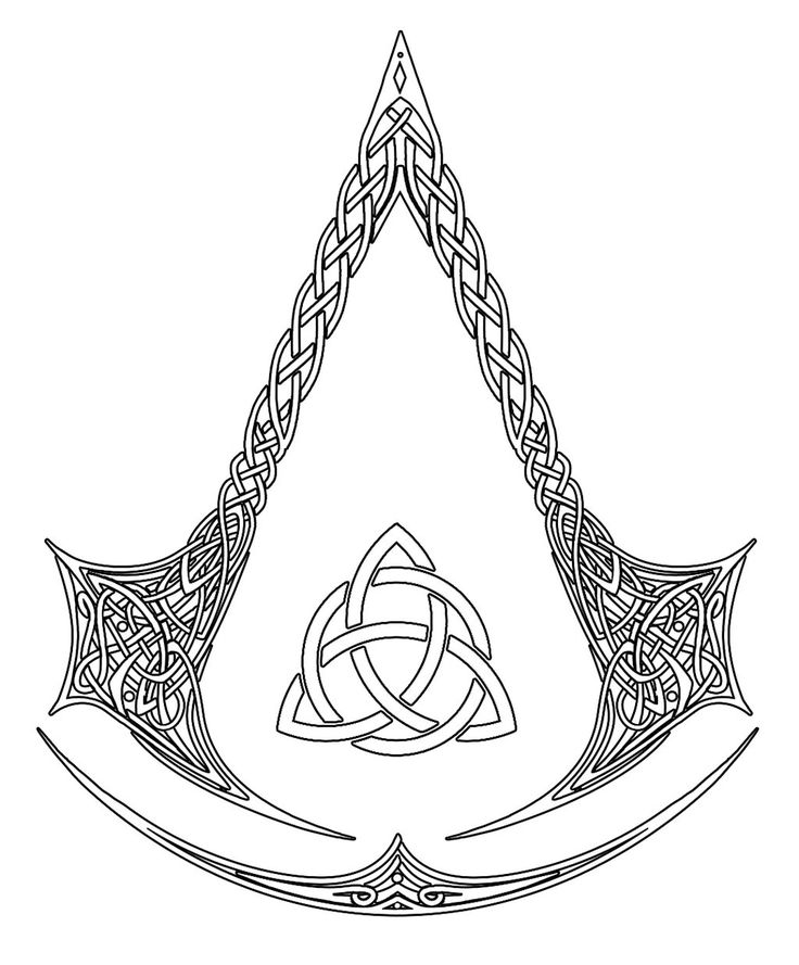 DeviantArt: More Like Assassin's Creed Logo Tattoo Commission by kerae