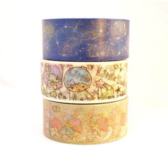 LITTLE TWIN STARS 5m high quality washi tape by MyChildhoodDream