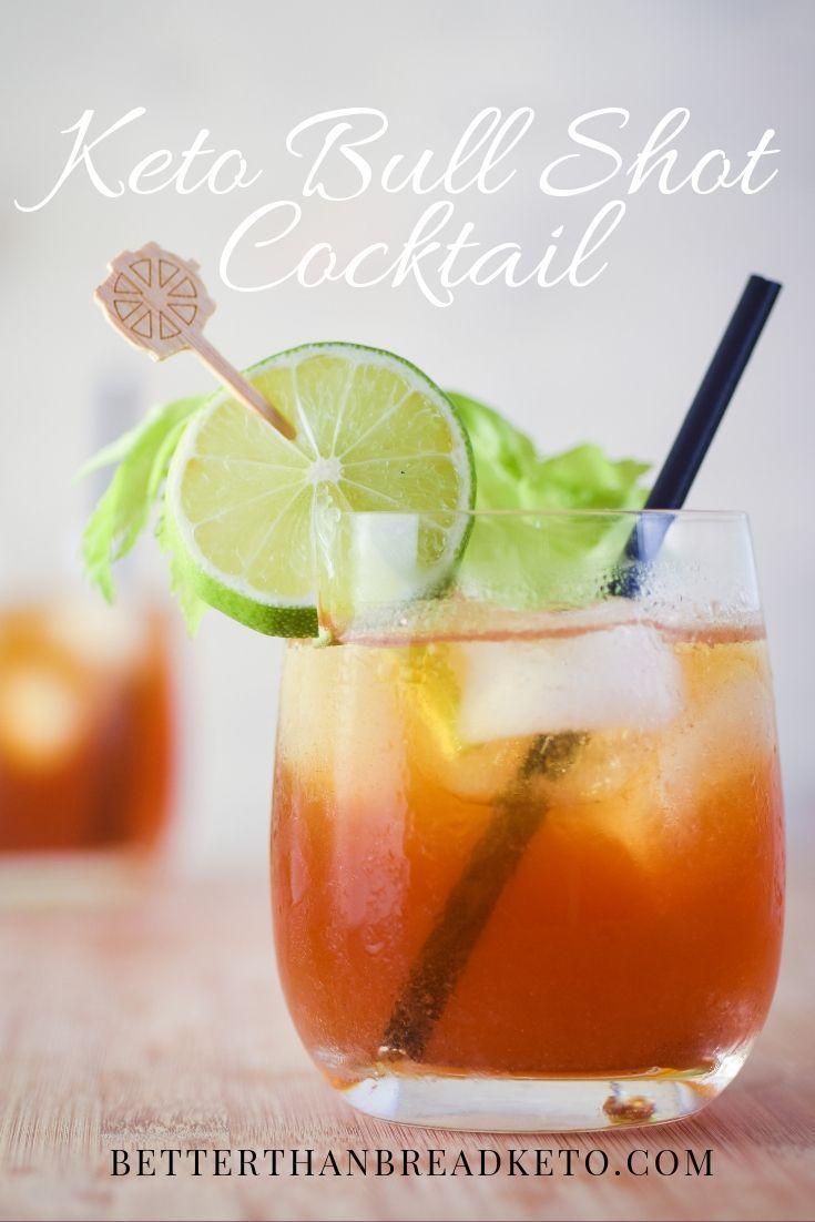 Keto Bull Shot Cocktail Recipe Keto Bull Shot Low Carb Drinks