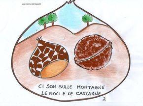 Giro Giro tondo l'autunno è in tutto il mondo, ci son sulle montagne, le noci e le castagne, e poi sulla pianura, c'è l'uva che è matu...
