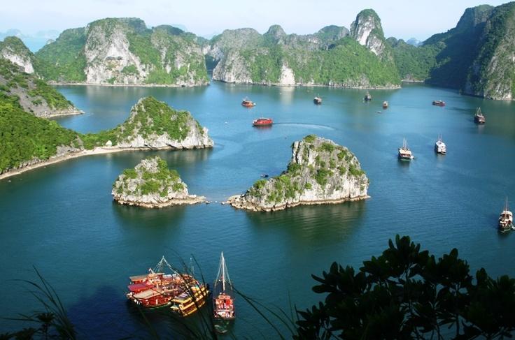 Baía de Ha Long - Vietnã