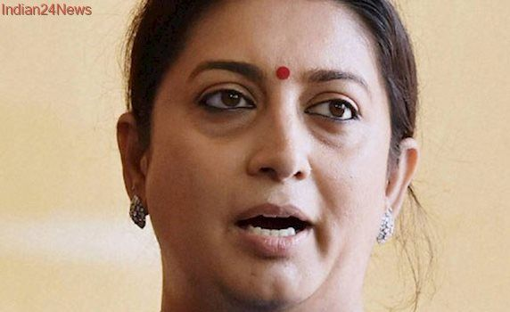 Probe into encroachment charge against firm linked to Smriti Irani's husband