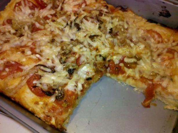 Sicilian Pizza Dough  the best homemade pizza dough recipe I've tried!