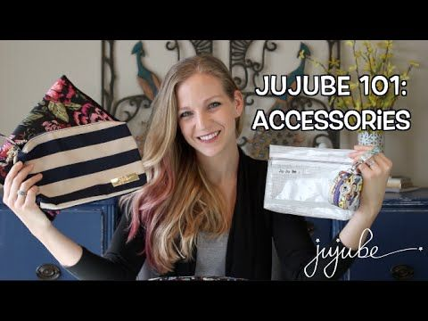 Ju-Ju-Be 101: Accessories featuring the JuJuBe Be Set, Be Quick, Fuel Cell, Pacipod and more! - YouTube