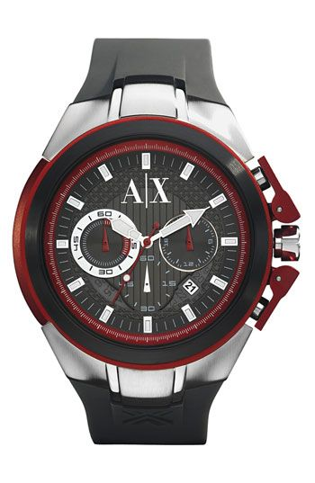 17 best ideas about mens chronograph watches red ax armani exchange men s chronograph watch available at nordstrom