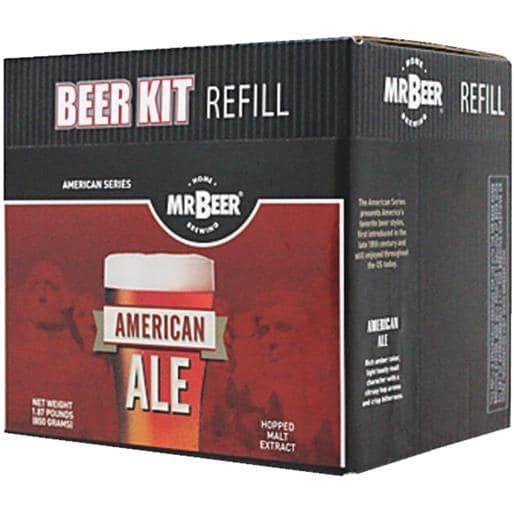 Coopers LLC/Mr Beer American Ale Refill 60952 Unit: Each, Brown chocolate