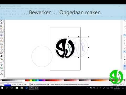 Hoe een actie ongedaan maken in Inkscape?