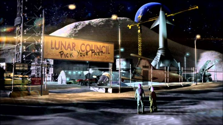 Book Trailer for Homer Hickam's Crater Trueblood & The Lunar Rescue Company