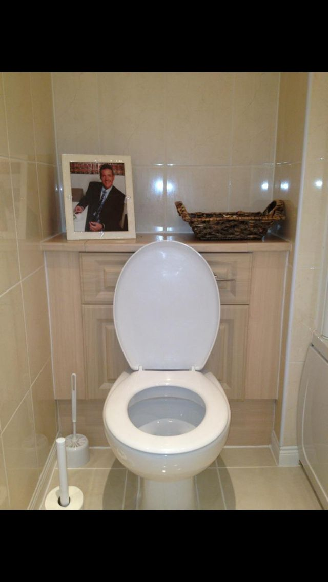 Sand bathroom with dale winton