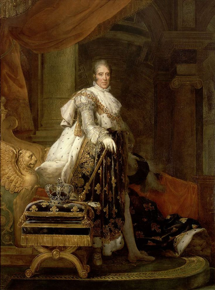 Charles X, roi de France (1757-1836). - François GERARD