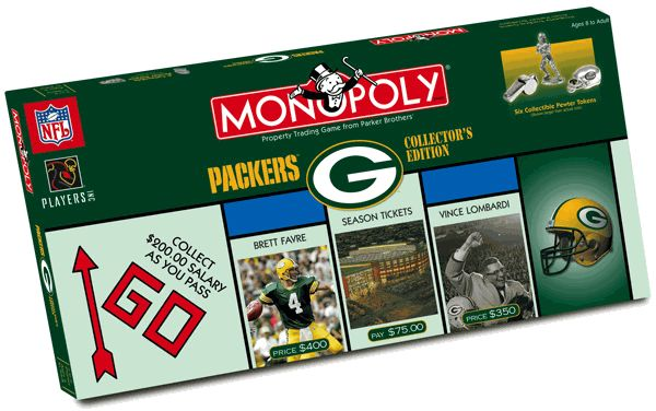 Green Bay Packers Monopoly - OMG!! I so want this!!!