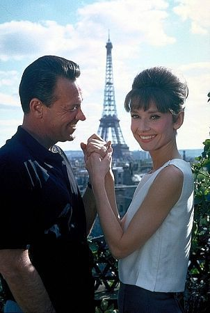 Paris When It Sizzles... Sad tragic end for Bill Holden, who always claimed he lost the love of his life and was never able to win her back....Audrey Hepburn. Love this doll face