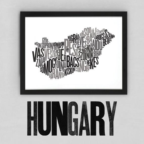 Hungary Fontmap