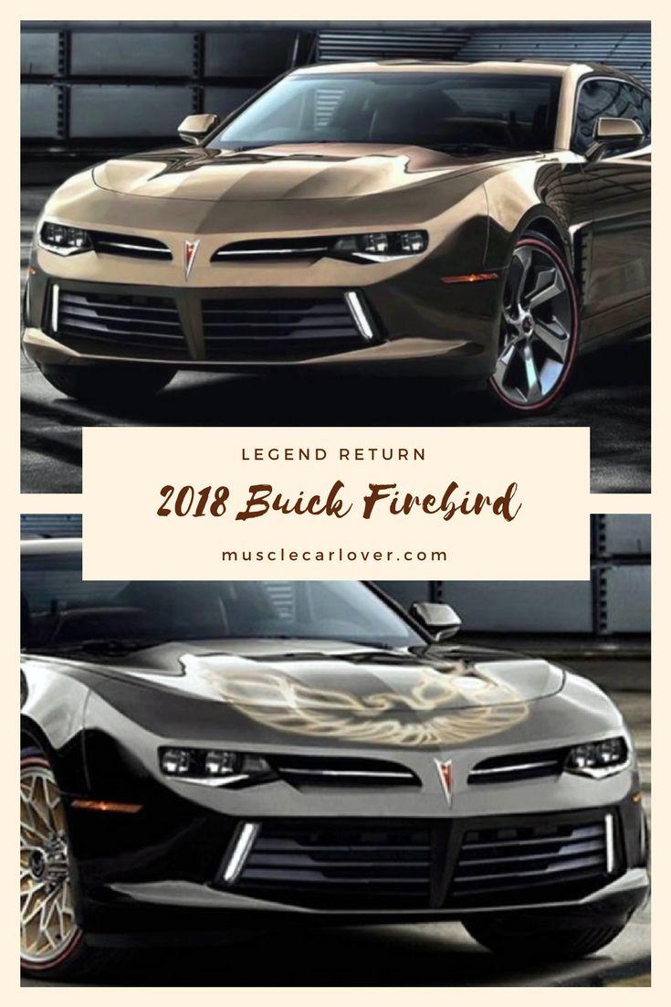 2018 Buick Firebird Trans Am 2 Legends Return Muscle Cars