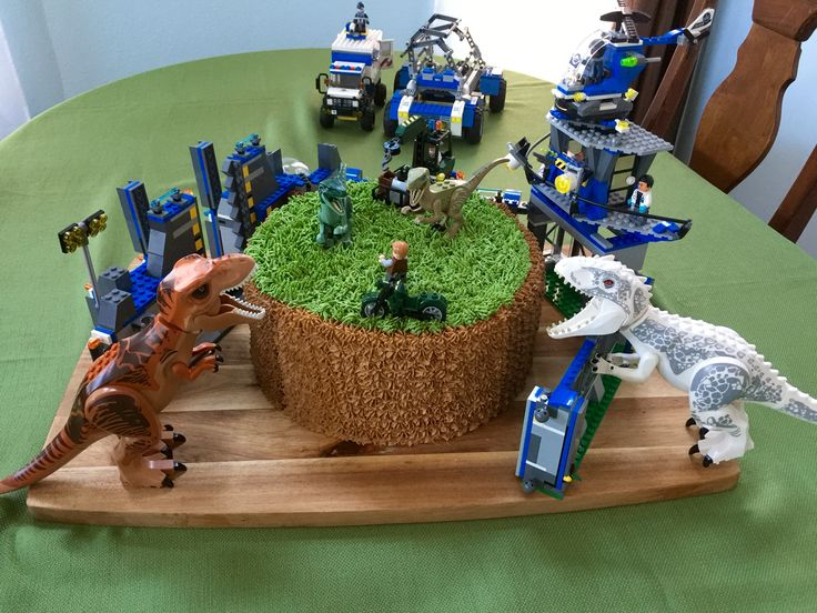 Lego Jurassic World Cake Images : 17 Best images about Dino party on Pinterest Dinosaur ...