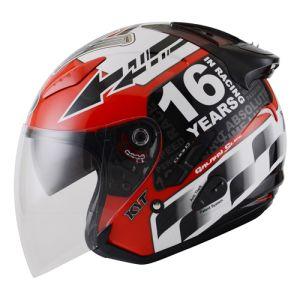 Helm KYT Galaxy GP Race Circuit Motegi
