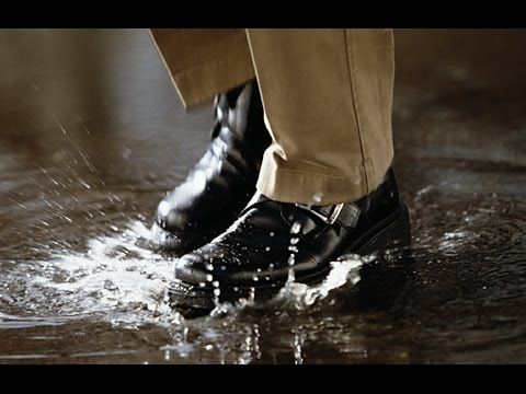 Промокает обувь | Пропитка для обуви водоотталкивающая - YouTube