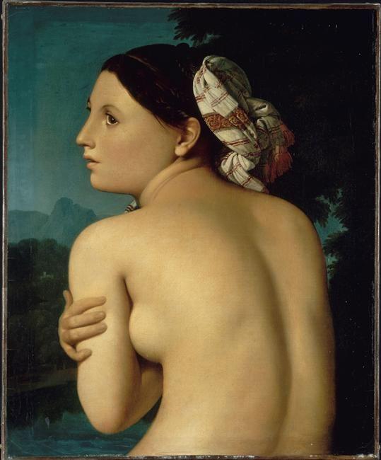 Ingres, La Baigneuse, huile sur toile, 51x42,5 cm, Bayonne, Musée Bonnat  © RMN-Grand Palais / René-Gabriel Ojéda