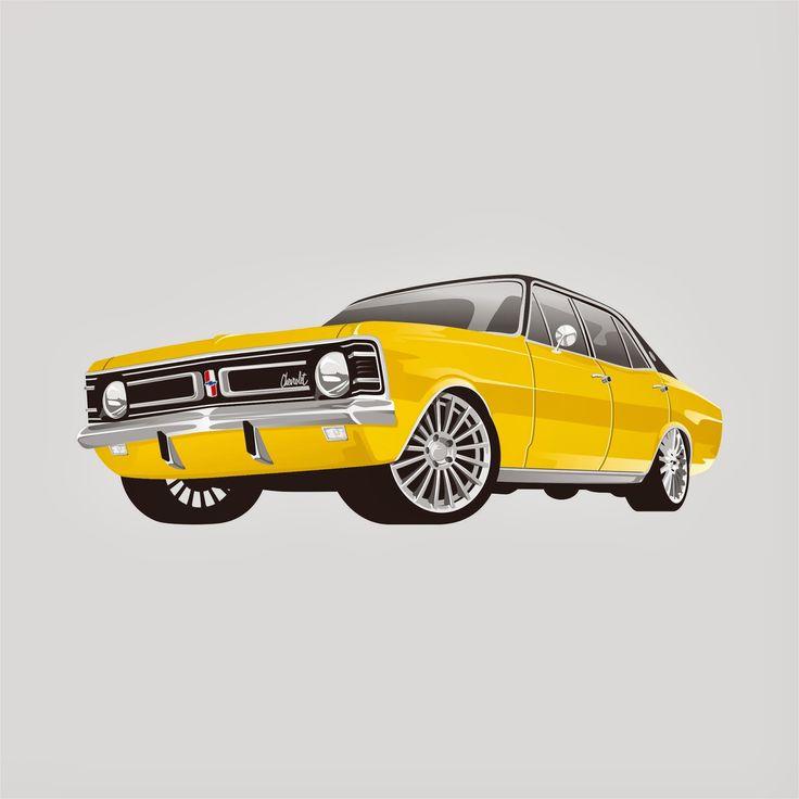 Chevrolet Car Design Vektor