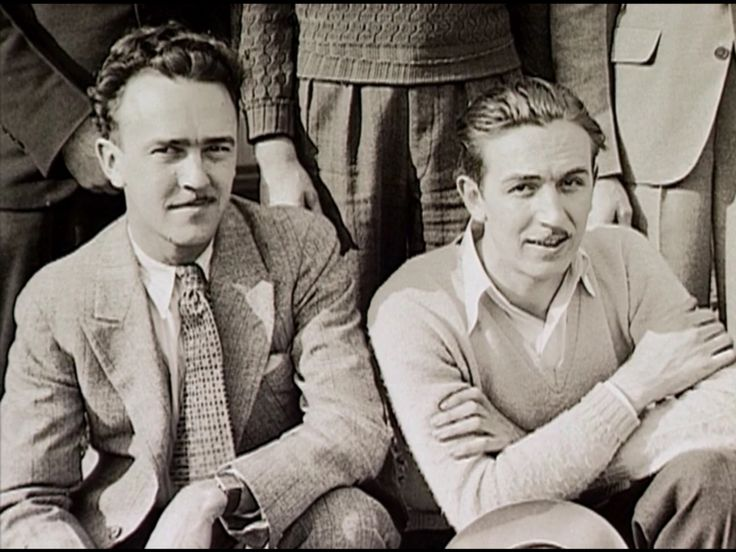 Walt Disney and Ub Iwerks
