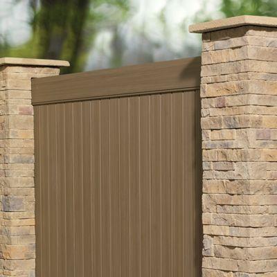 Brown Vinyl Privacy Fence 340 best vinyl gates - fence images on pinterest | vinyl gates
