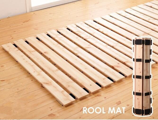 Japanese Style Solid Wood Bed Support Slats For Tatami Bedroom