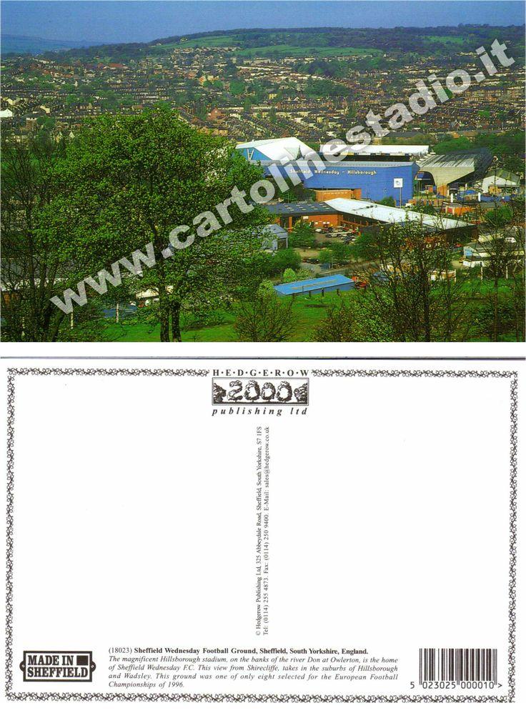 € 2,00 - code : GBR-037 - SHEFFIELD - Hillsborough - stadium postcard cartolina stadio carte stade estadio tarjeta postal