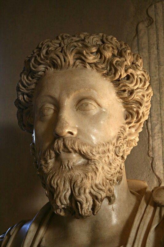 Marcus Aurelius. Roman Emperor.