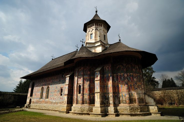 Sucevita is chronologically the last monastic ensemble among the painted monasteries in Bukovina. http://buff.ly/1CkZeiw #Bukovina #land #painted #monasteries #travel #Romania #tourism #destination