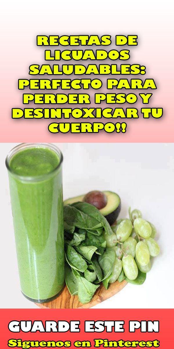 Licuados saludables para perder peso