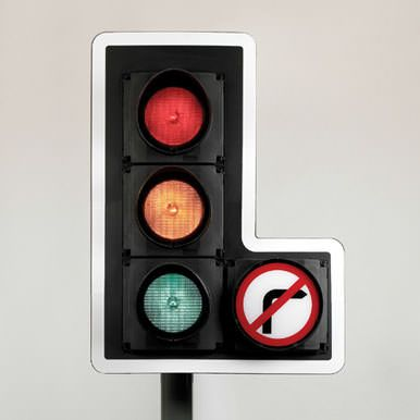David Mellor's traffic light design, 1966. Virtually unchanged for 50 years.