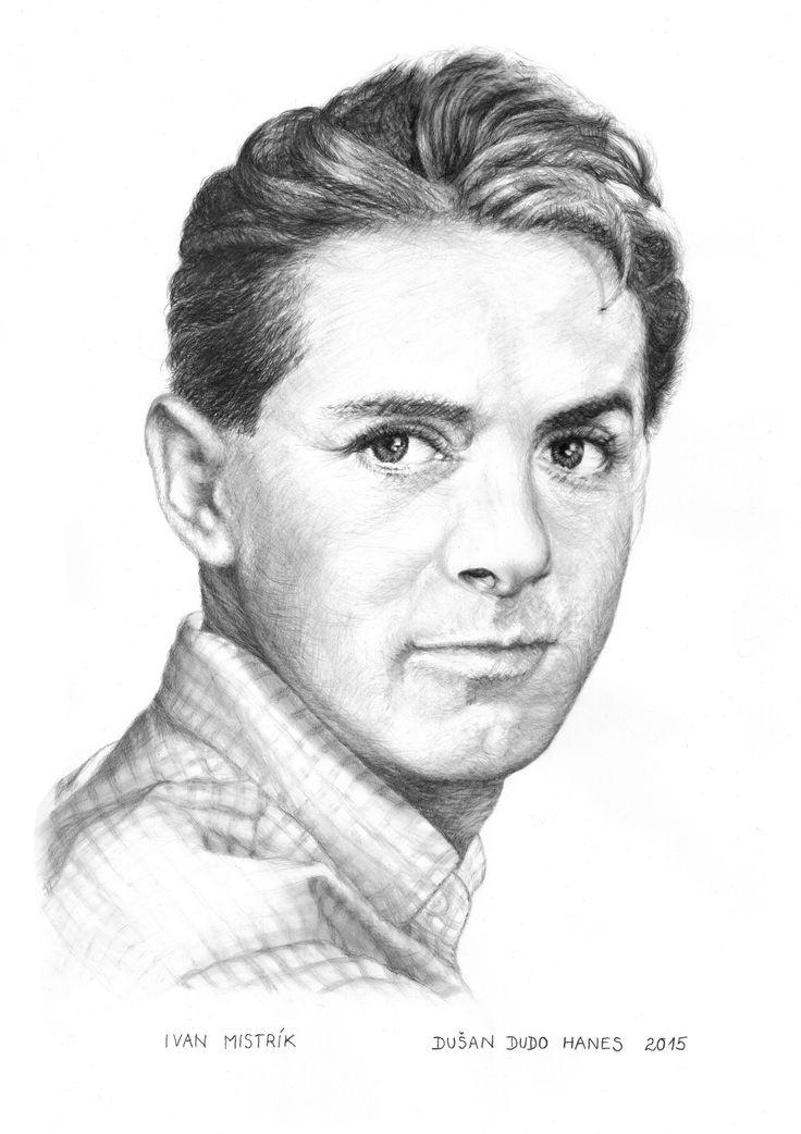 Ivan Mistrík, portrét Dušan Dudo Hanes