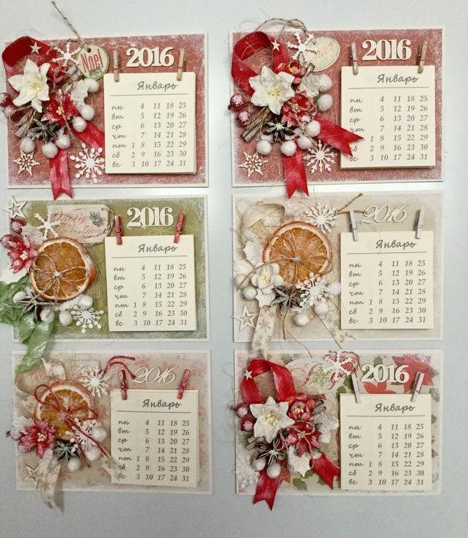 Календари - Скрапбукинг (бумажный) - сообщество на Babyblog.ru