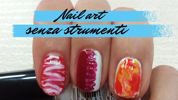 Nail art veloci e facili.. e senza strumenti!! Realizzate solo con uno stuzzicadenti :) Seguite il tutorial! #nailart #nailarttutorial #tutorial #polish