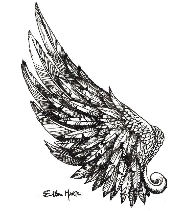 wing tattoo - Поиск в Google