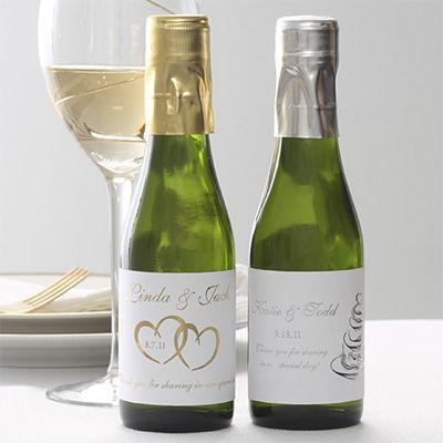 Personalized Wine Bottles For Wedding Gift : Personalized Wine Bottle Favors Wedding favor & wedding gift ideas ...