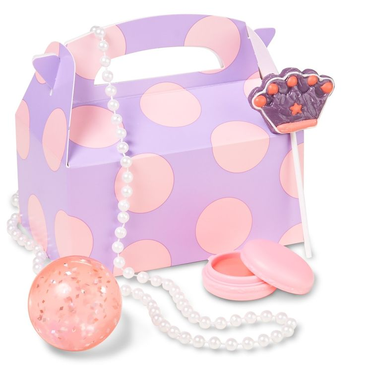 Disney Junior Sofia the First 1st Birthday Filled Party Favor Box