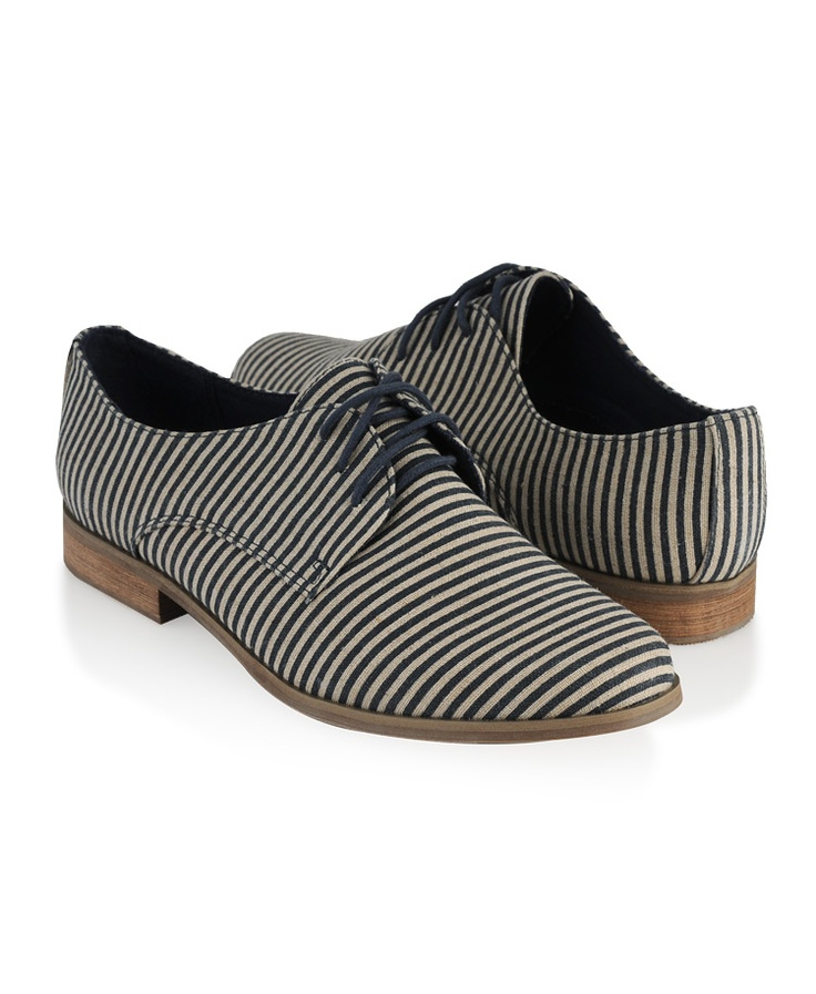 striped oxfords
