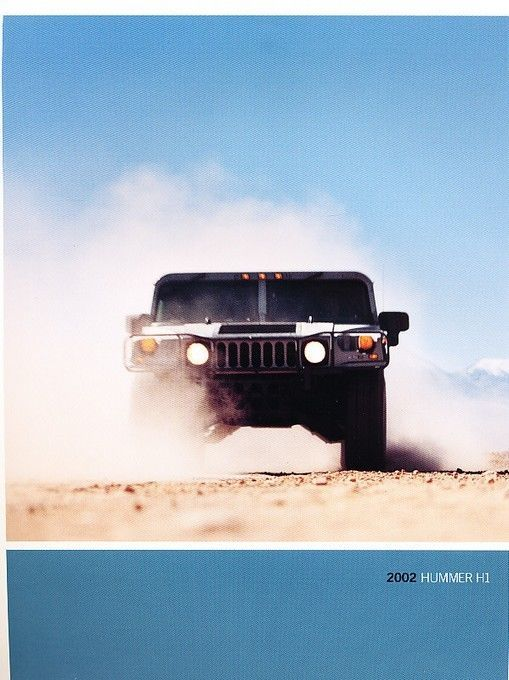 2018 hummer h1 price. interesting price awesome amazing 2002 hummer h1 1page original car sales brochure card 2018  check more to hummer h1 price