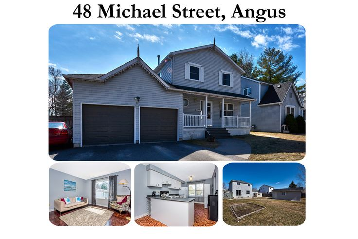 48 Michael Street in #Angus is For Sale! #Realestate #CFBBorden Contact Kari Murray from Keller Williams at 705-770-0011 or karimurray@kw.com to see this property or for more details