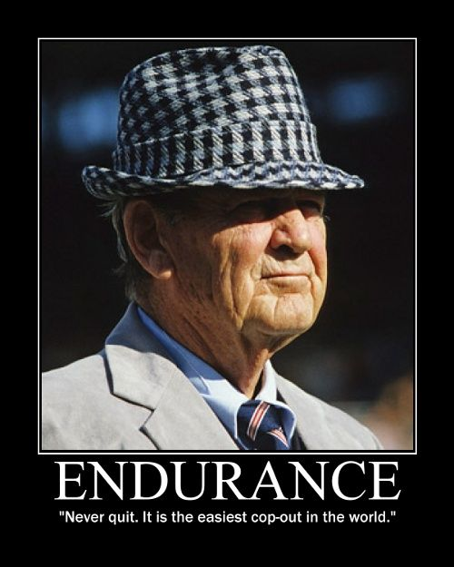 Endurance: Paul Bears, Bears Bryant, Tide Rolls, Bearbryant, Alabamacrimsontide, Alabama Football, Colleges Football, Alabama Crimson Tide, Rolls Tide