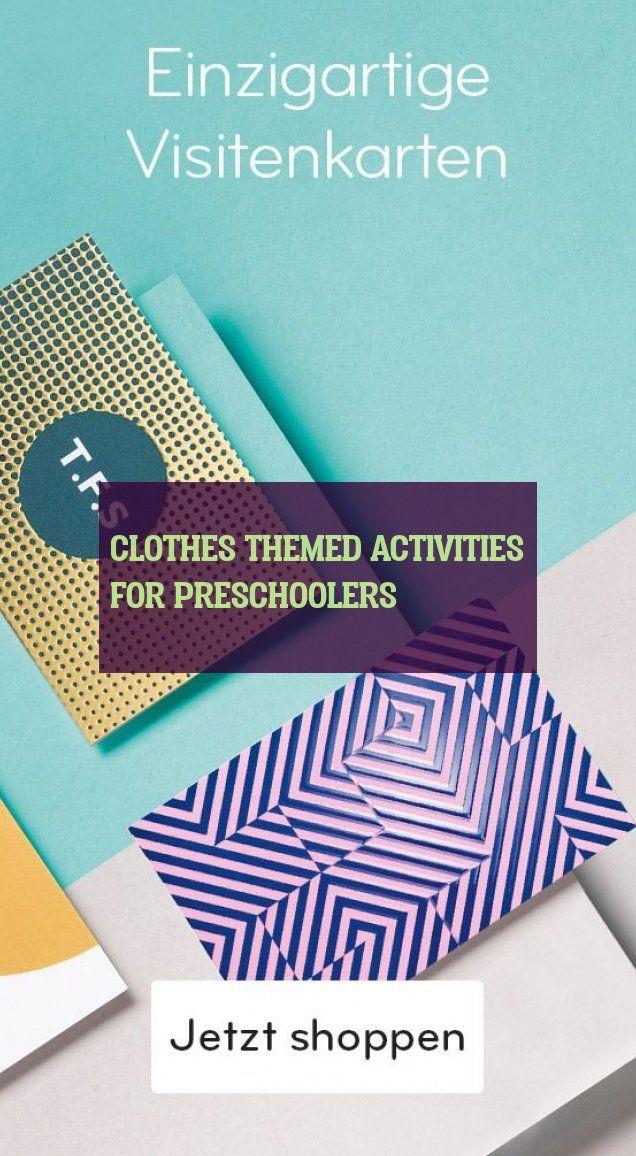 Aktivitäten Zum Thema Kleidung Für Kinder Im Vorschulalter