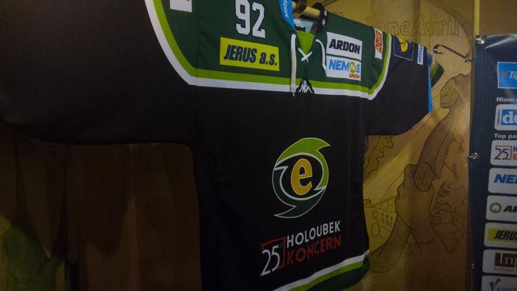 HC Energie Karlovy Vary 2015/16 jersey